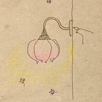 H様専用オーダー/桜のブラケットランプ