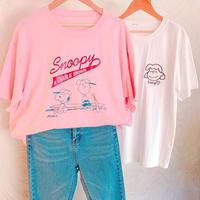 Snoopy&CharlieゆるTシャツ
