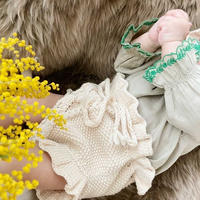 【babytoly】rococo bloomer/  natural・beige