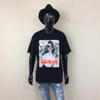 ANGELENOセレクト/エンボス加工レディープリントビックTシャツ