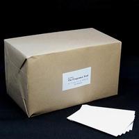 BCW-321-600 カードムエット白 お徳用業務パック600枚入り 無地