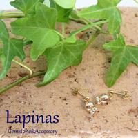 seed series ゴールデンオーラのピアス(CP18)