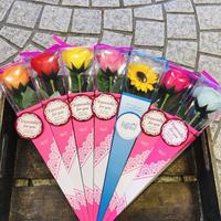 花のバスフレグランス(一輪)7色セット