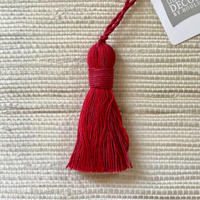 Houles MASAI Key Tassel (Red)