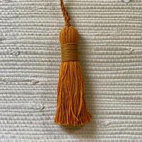 Houles MASAI Key Tassel (smokey orange)