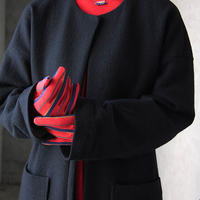 MARCOMONDE long gloves red