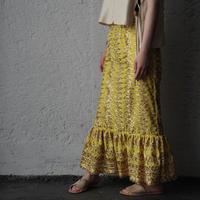 NOTA laterano due flounced skirt yellow