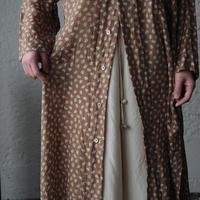 TOWAVASE Sarasa shirts dress (camel)