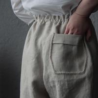 NOTA linen pants (beige)