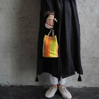 nylon pochette (orange)
