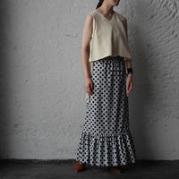NOTA laterano due flounced skirt dot