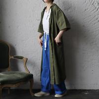 hospital surgical gown short sleeve (khaki)