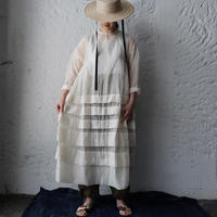 Tabrik  organdy dress (ivory)