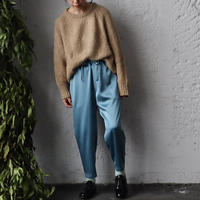 NOTA  satin pants (blue gray)