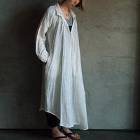 Tabrik shirt dress white