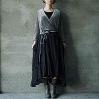 Tabrik cache-coeur dress black