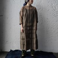 Tabrik  organdy dress (olive)