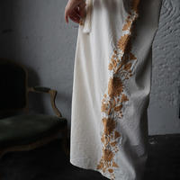 pips hand embroidered dress