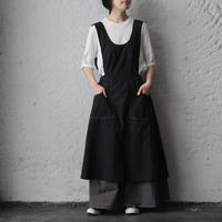 nurse apron (black)