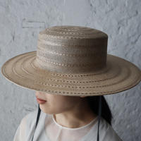 Mia Hat & Accessory lace canotier ( natural)