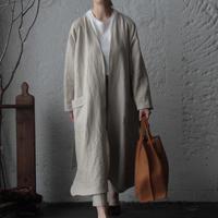 NOTA linen gown (beige)