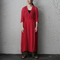 Tabrik cache-coeur dress (red)