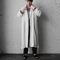 Tabrik linen robe (white)