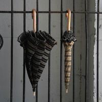 Tabrik parasol  border (black or beige)