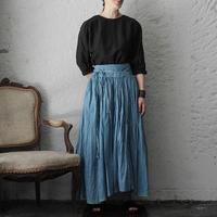 Tabrik gathered skirt (hon-aizome B)