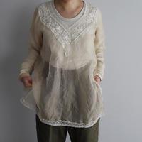 TOWAVASE jon leavers blouse (beige)