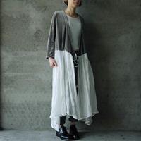 Tabrik cache-coeur dress white