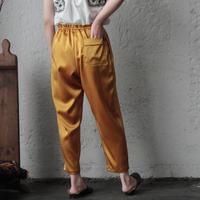 NOTA  satin pants ( mustard)