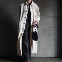 Yarmo long work coat offwhite