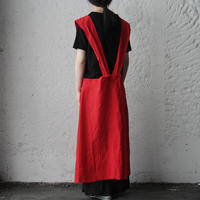 nurse apron (red)