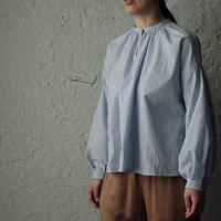 NOTA le menage blouse (blue stripe)