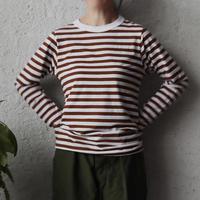 R&D.M.Co- gauze bouder L/T shirt