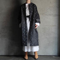 TOWAVASE Aquarelle silk quilt robe