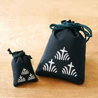 縁起柄セット<守袋+合財袋> 菖蒲 ●守袋は新しい紐仕様でのお届けとなります