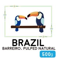 """500g"" ブラジル バヘイロ パルプド・ナチュラル"