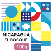 """100g"" ニカラグア  エル・ボスケ  アナエロビック  ナチュラル (中浅煎り)"