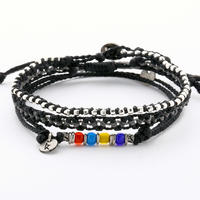 Wakami - 3set anklet / black