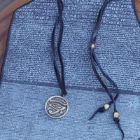 TIME  Horus Plate Necklace(BRASS)