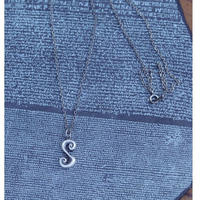 TIME  Eddy Necklace(SILVER)