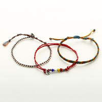 wakami - Anklets-set of 3 Antiqua  BC-17012