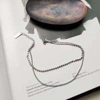 j179.S925 double line anklet