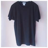 無地Tシャツ ブラック