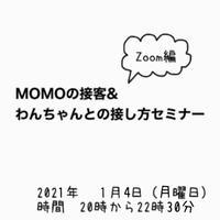 2021年1月4日 MOMOのセミナーのチケット