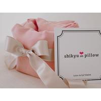 【妊活スタイル掲載】子宮温pillow Baby Pink / ベビーピンク
