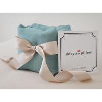 【妊活スタートBOOK掲載】子宮温pillow Tiffany Blue / ティファニーブルー