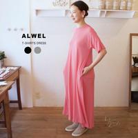 ALWEL(オルウェル) | T-SHIRTS DRESS サイズ:[S] [M]